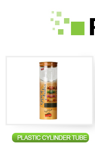 New design clear plastic cylinder packaging box 3