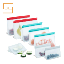 Factory Price Reusable Silicone Bags Reusable Storage Bags